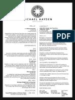 Hayden Resume 2017
