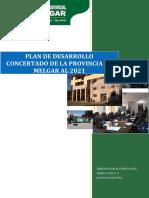 Plan de Desarrollo Concertado de La Provincia de Melgar Al 2021