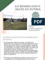 Modelo Biomecanico Del Remate en Futbol
