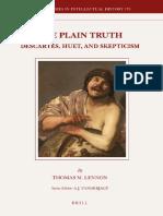 BSIH 170 Lennon] - The Plain Truth_Descartes, Huet, and Skepticism.pdf