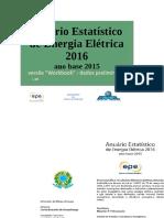 Anuário Estatístico de Energia Elétrica 2016