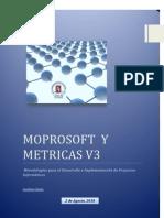 Moprosoft y Metricas V3