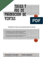 Estrategias y Objetivos de Promoción de Ventas