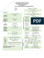 Analisis de Masa y Energía de Volumen de Control (Sistema Abierto)