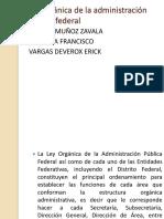 Ley Orgánica de La Administración Publica Federal Ok