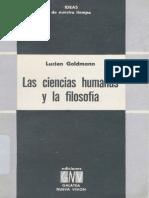 Las ciencias humanas y la filosofía
