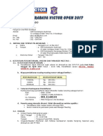 02 Ketentuan Walikota Surabaya Victor Open 2017 Ranking Nasional