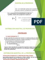 Distribucion Muestral de La Proporcion