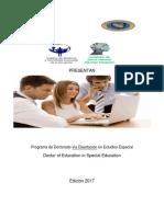 pdf dossier doctorado en educaciion