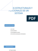 Aspectos Estructurales y Funcionales de Un Sistema