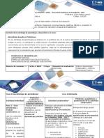 Guía de Actividades y Rúbrica de Evaluación- Paso 2 - Organización y Presentación