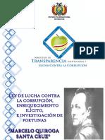 Present. Ley Marcelo Quiroga