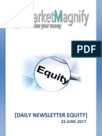 Daily Equity Report 22-June-2017