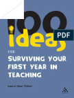 100 Ideas for Surviving your First Year in Teaching.pdf