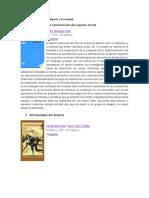 Libros relacionados con el deporte y la sociedad.docx