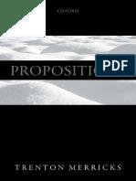 propositions - merrick