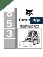 BOBCAT 853 F PARTS MANUAL.pdf