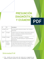Enf. de Von Willebrand Diagnóstico