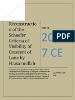 Husa:m's Reconstructed Formula of Shaefers Criteria of Visibility of Crescent of Luna