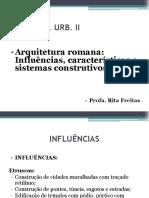 Arquitetura Romana - Thau II (1)