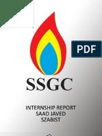 SSGC internship report