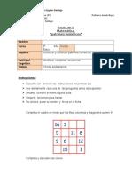 reconocer y continuar patrones numéricos