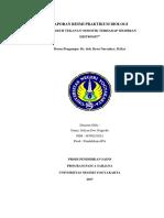 2. Laporan Praktikum Biologi Pengaruh Tekanan Osmotik Terhadap Membran Eritrosit