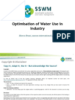 BRUNI 2012 Optimisation of Water Use in Industry-120619