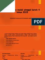 Pembahasan Modul Ukmppd Batch 4 Tahun 2015 ( THT )