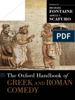 (Oxford Handbooks) Michael Fontaine, Adele C. Scafuro-The Oxford Handbook of Greek and Roman Comedy-Oxford University Press (2014)