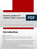 Exclusive Products by Adarsh Credit Cooperative Society
