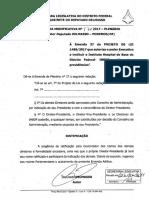 EMENDA DE PLENÁRIO 57 - MODIFICATIVA - DEPUTADO DELMASSO