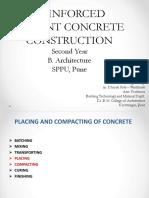 RCC - Construction Process .