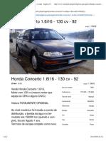 Honda Concerto 1.6i16 - 130 cv Novembro_92 - à venda - Ligeiros Passageiros, Porto - CustoJusto.pt.pdf
