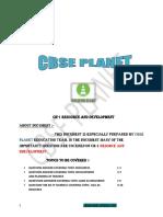 Nots Ch 1 Geo Resource Development PREPARED BY CBSE PLANET