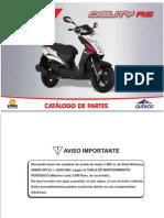 Manual de Partes AGILITY-RS