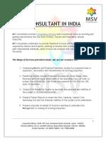 Hotel Consultant in India