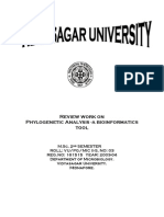 Phylogenetic Analysis -A bioinformatics Tool