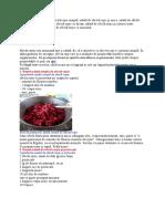 Reţete Culinare Salată de Sfeclă Roşie Simplă