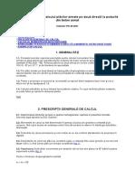 PD 46 Din 2001 NORMATIV Pentru Calculul Plăcilor Armate Pe Două Direcţii La Podurile Din Beton Armat