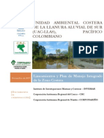 Documento en construcción Plan de Manejo zona costera UAC-LLAS