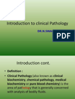 Introduction to Clinical Pathology