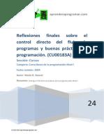 CU00183A Reflexion Final Control Directo Flujo Programas Vision Conjunto