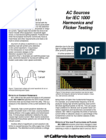 App101 IEC 555 (Harmonics-&-Flicker) Testing