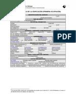 Ficha Técnica de La Edificación