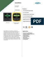 Signet 8550 Flow Transmitters