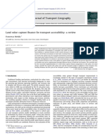 Land Value Capture Finance for Transport Accessibility a Review 2012 Journal of Transport Geography