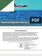 Dispersant Application Observer Job Aid