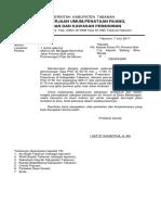 Surat Permononan Menggali Pipa