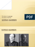 The Idea of Language Giorgio Agamben Caner c3a7etiner 12-11-20151
